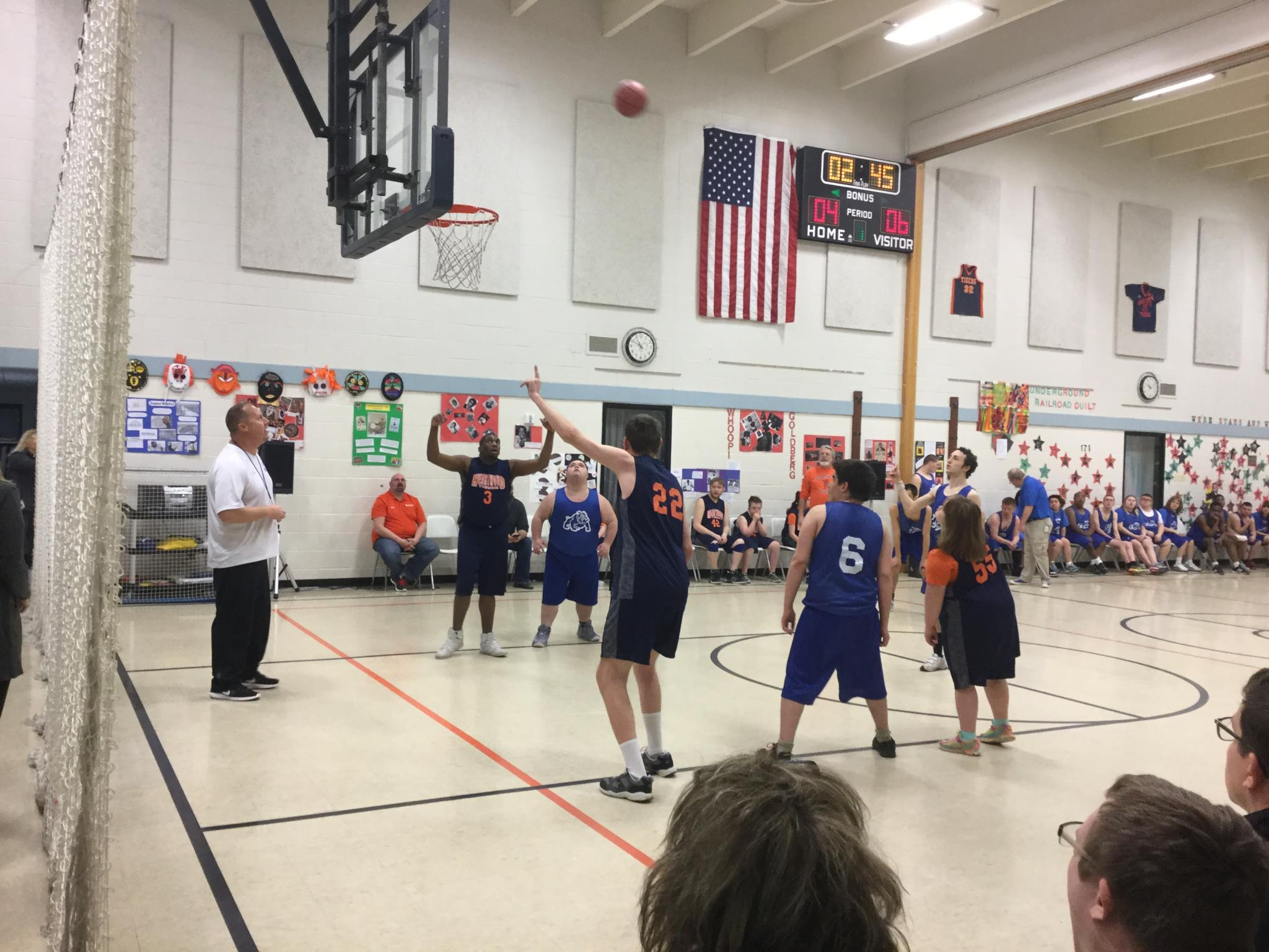 Special Olympic Basketball Game